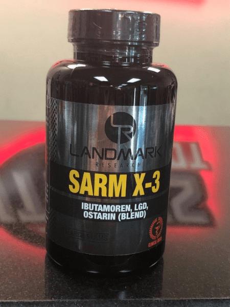 SARM X3 (SARM) - 60 caps | Fitness Depot