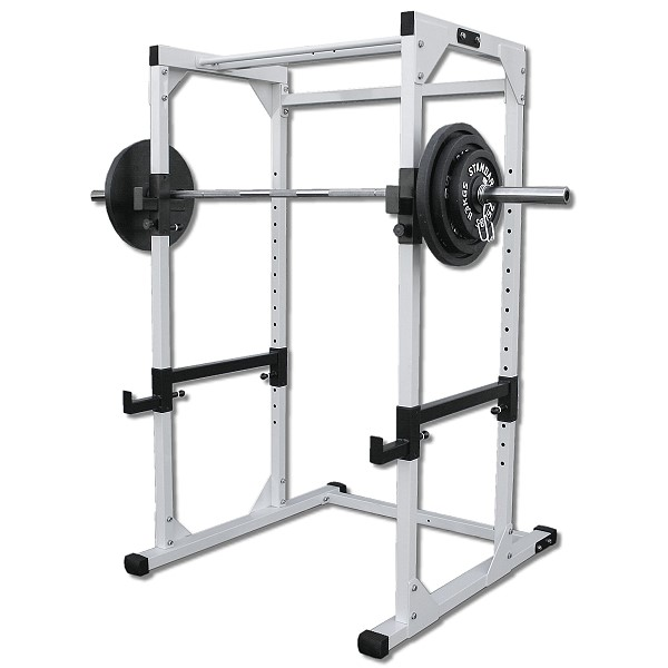Power Rack With 300lb Olympic Weight Set By Deltech Fitness