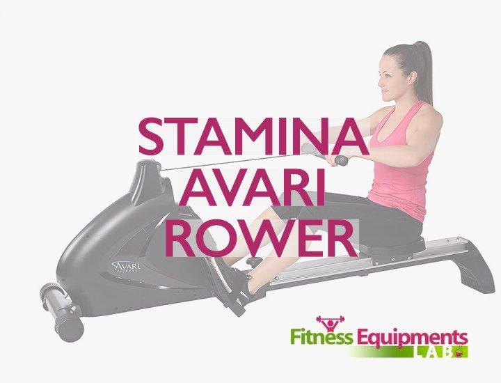 Stamina Avari Rowing Machine