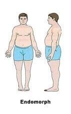 Endomorph نوع الجسم