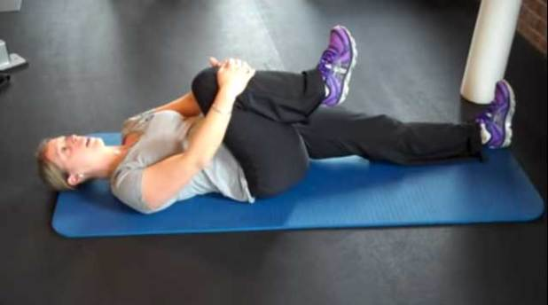 Knee to Chest Stretch