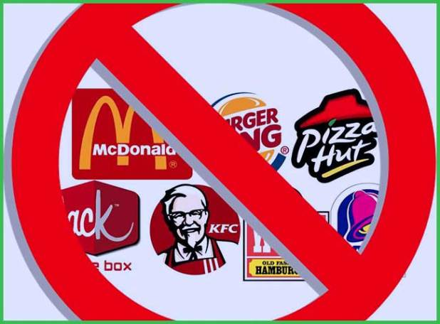 Stay Away from Fast Food