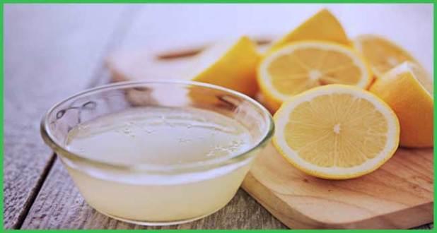 lemon juice for acne