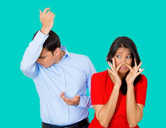 how to stop body odor
