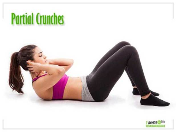 Partial Crunches for Lower Back Pain
