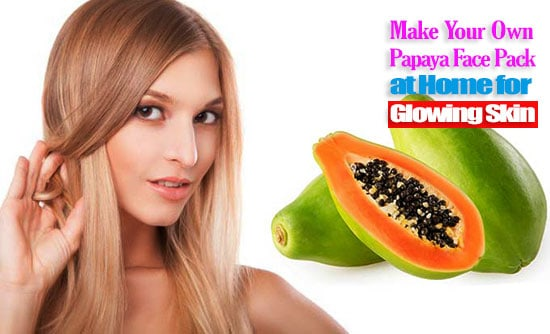Papaya Face Pack at Home