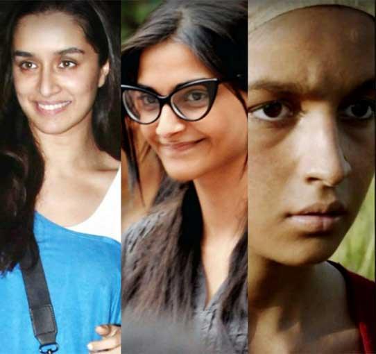 Top 10 Bollywood Actress Without Makeup Photo Images
