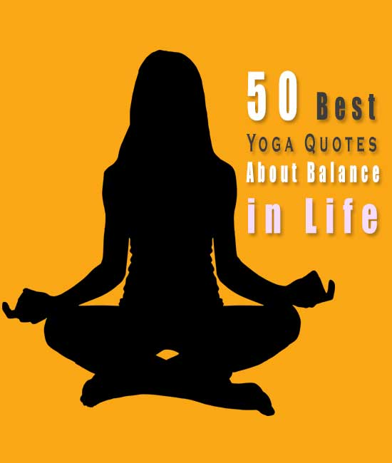 Yoga Quotes About Balance