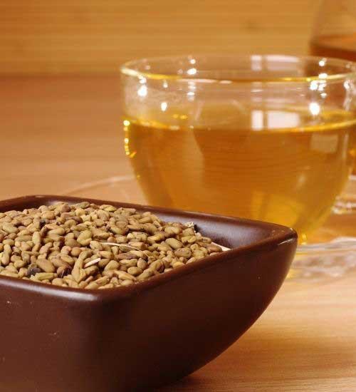 Fenugreek Tea for tooth abscess