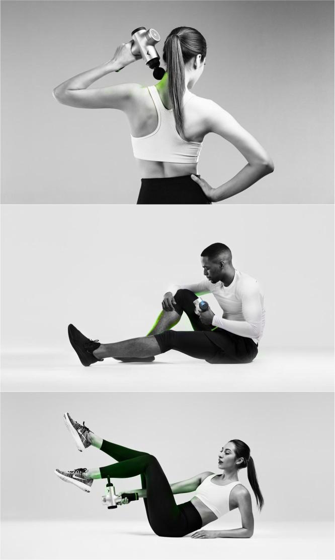 Hypervolt from Hyperice Vibrating Massager for Athletes