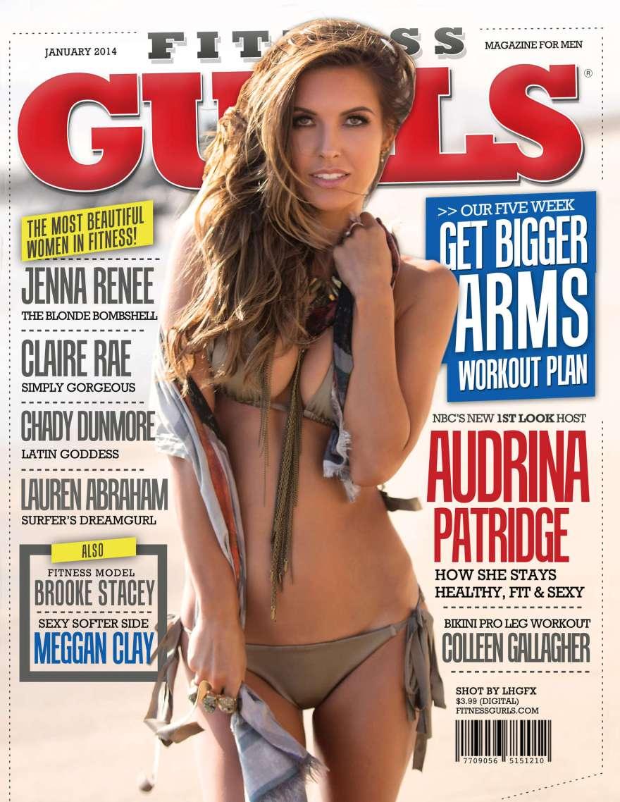 Audrina Patridge - Fitness Gurls Cover