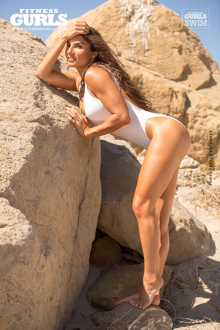 Lauren Abraham  Fitness Gurls Swimsuit 2014  Fitness