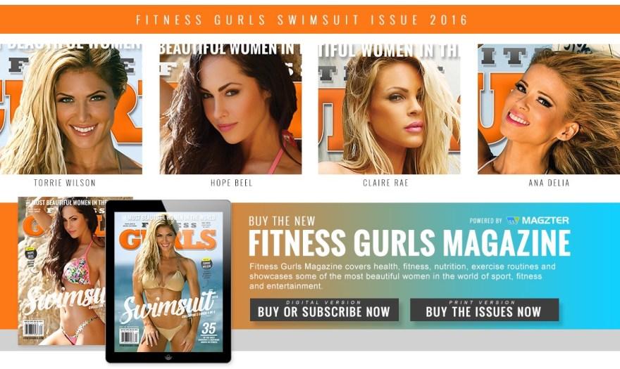 Fitness Gurls Swimsuit Issue - Torrie Wilson, Hope Beel, Claire Rae, Ana Delia, Gurls