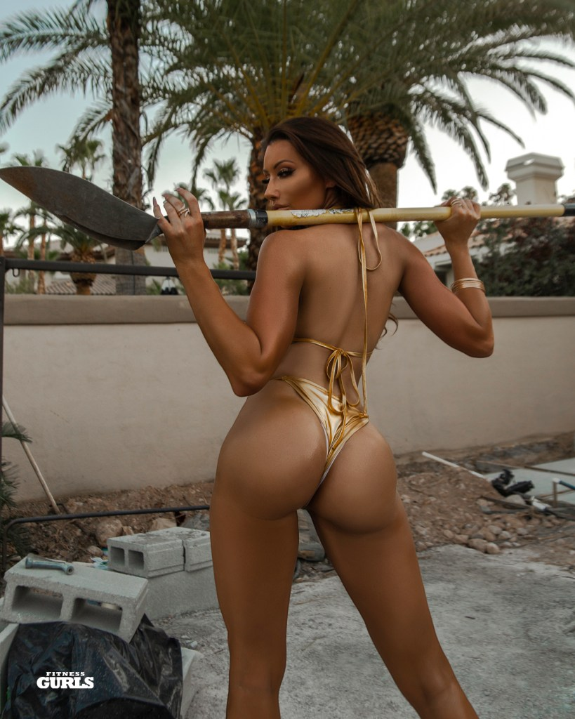 Holly Sonders for Fitness Gurls Magazine