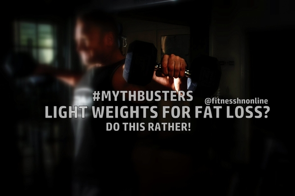 Light Weight High Reps for Fat Loss - Myth buster - Fitness HN