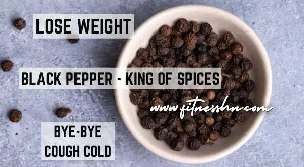 Health Benefits of Black Pepper - Fitness HN