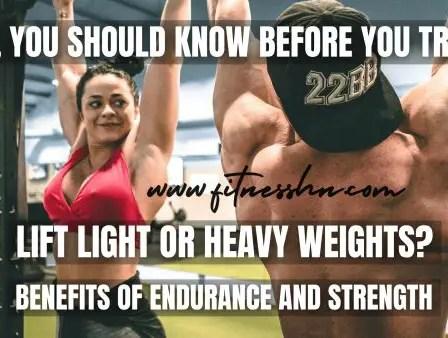 Endurance Vs Strength and Benefits - Fitness HN