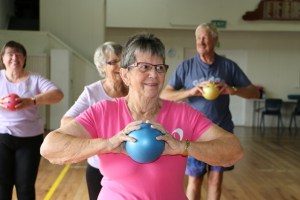 FLexercise NZ with ball