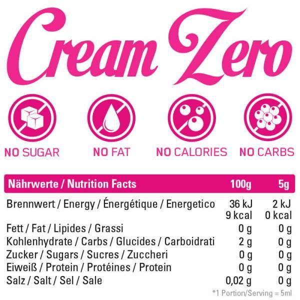 Cream Zero