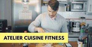 🔒Atelier cuisine : l'alimentation saine sans se priver du goût.