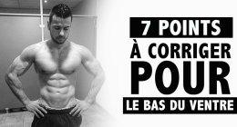 🔒 7 points pour bien finir sa sèche en musculation – Formation