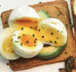 recette toast musculation