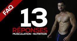 VIDÉO FAQ Fitnessmith : 13 réponses Musculation et Nutrition