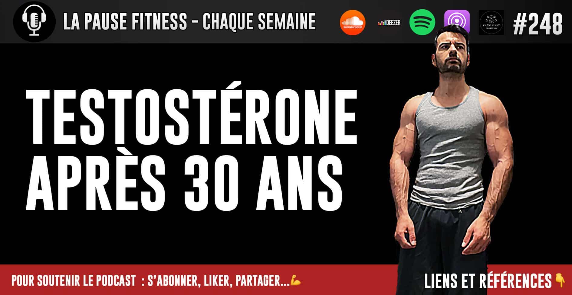 La testostérone après 30 ans
