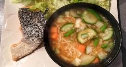 Recette fitness de soupe miso sans gluten