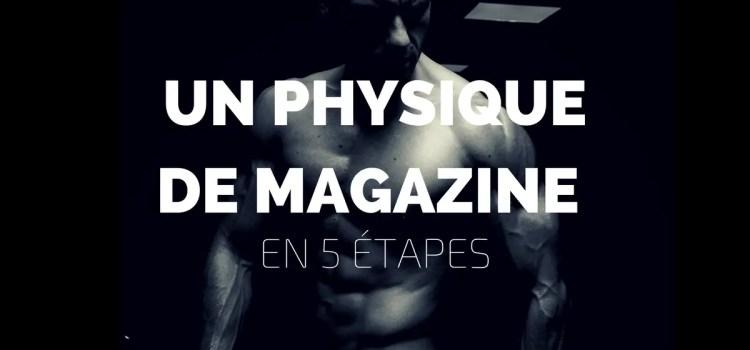 5 conseils pour faire la couverture d'un magazine de fitness