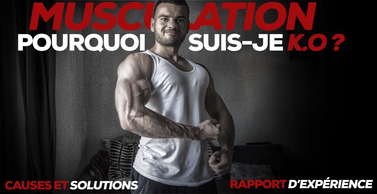 arrêt musculation