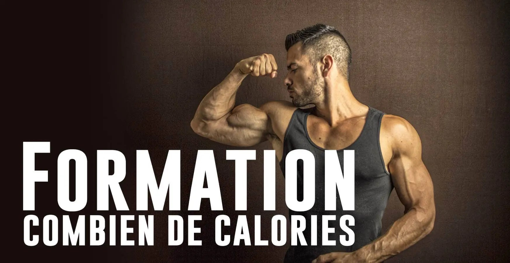 calories musculation