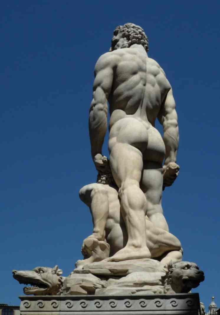 dieux grec dos fessiers