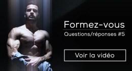 ?Questions / réponses #5 : Travailler dans le fitness, blessures, point faible, huile de coco