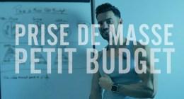 🔒 Comment faire une prise de masse petit budget en musculation