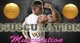 Musculation vs Musculation