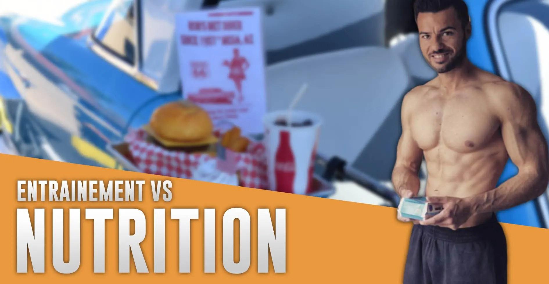 nutrition entrainement