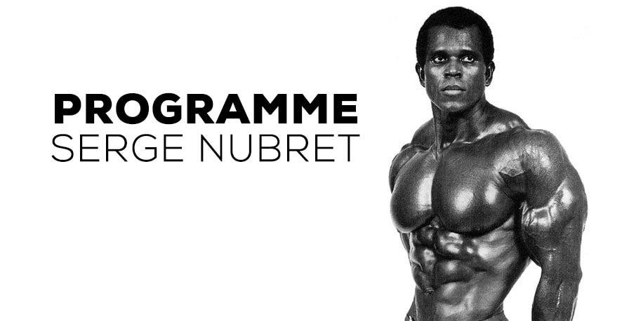 PROGRAMME SERGE NUBRET