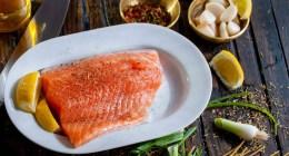 Recette fitness pâtes au saumon et crème ( sans gluten ni lactose )
