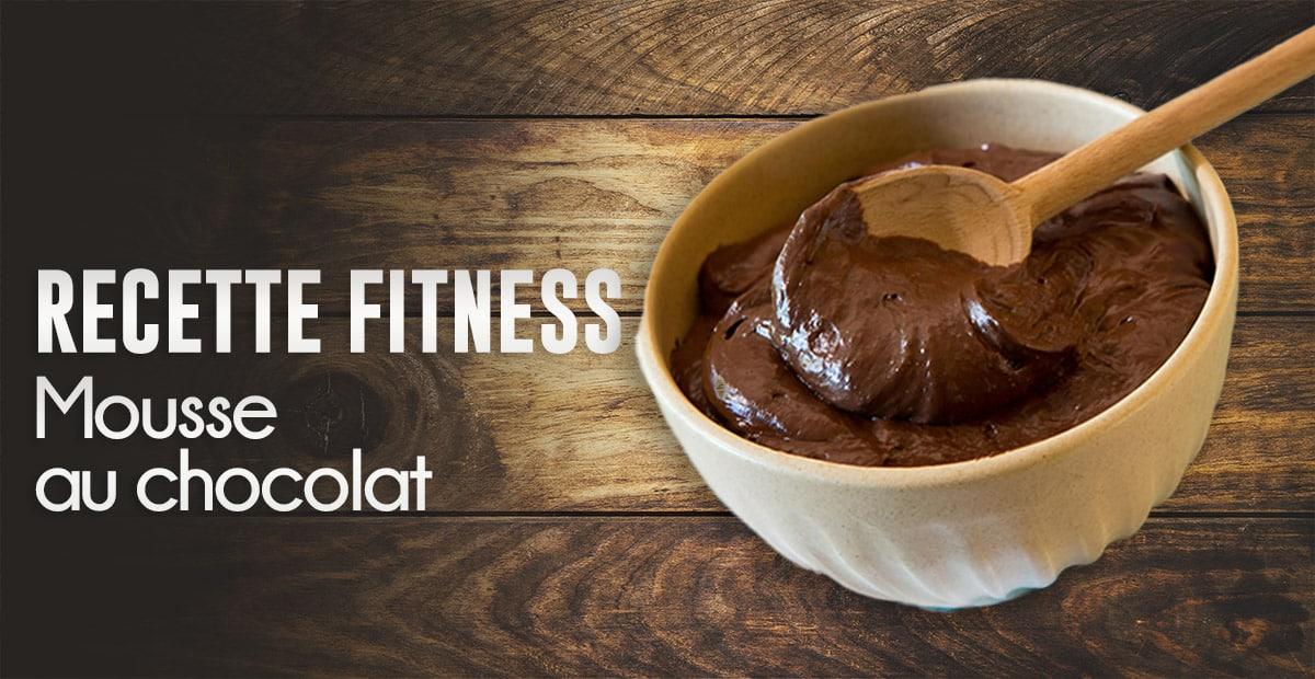 Recette : Mousse au chocolat fitness