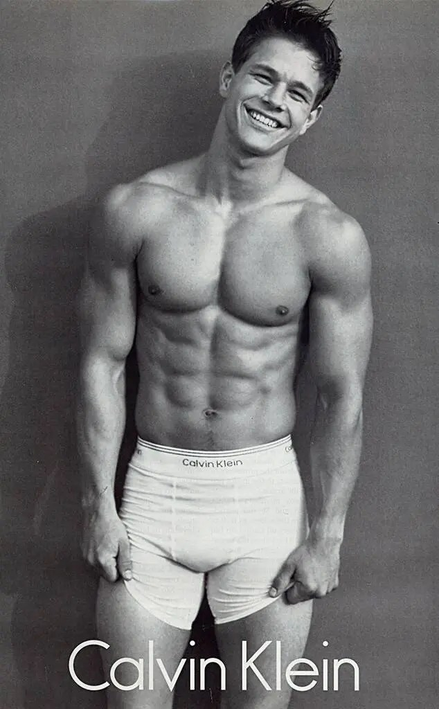 Mark Wahlberg pour Calvin Klein