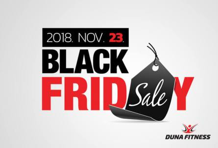Duna Fitness Black Friday 2018 nov.