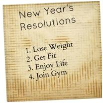 Can You Remain Faithful to Your Weight Loss Resolutions?