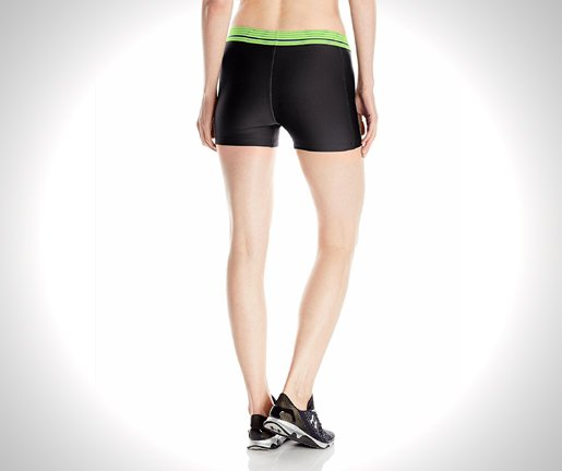 Under-Armour-Womens-HeatGear-Armour-Shorty-from-back