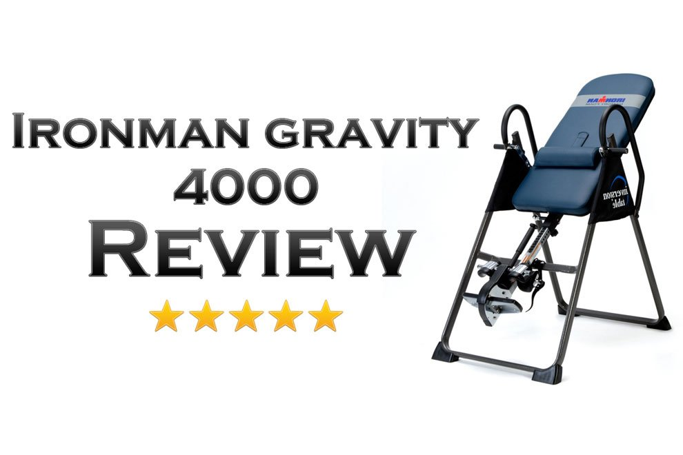 ironman gravity 4000 inversion table review is it effective rh fitnesspickup com