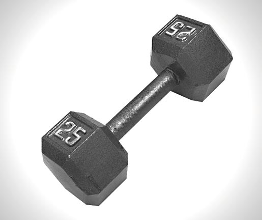 CAP Barbell Solid Hex Dumbbell - 10 Best Dumbbells Reviews For Home: Buyer's Guide of 2020