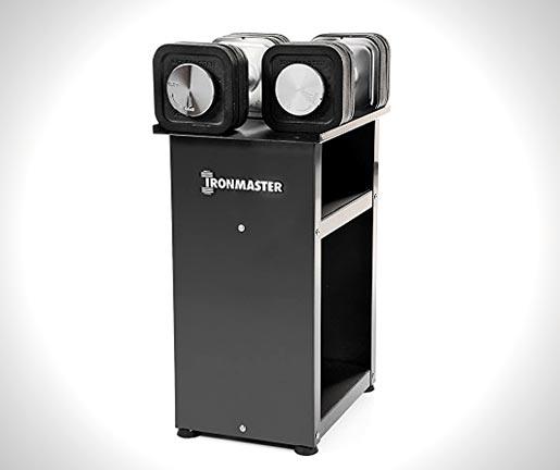 Ironmaster-75-lb-Quick-Lock-Adjustable-Dumbbell-System