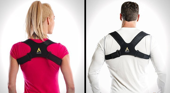 Agon Posture Corrector Clavicle Brace Support Strap - The Best Posture Brace You Can Buy For Men And Women in 2020