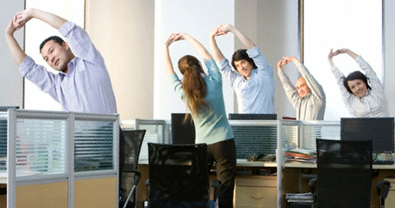 physical activity in office