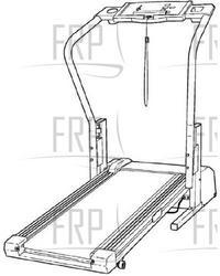 Weslo 1010 Treadmill